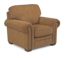 Harrison Fabric Chair with Nailhead Trim