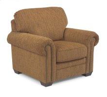 Harrison Fabric Chair with Nailhead Trim