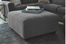 Timber and Tanning Oversized Accent Ottoman