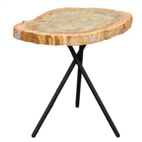 Petrified Side Table, Natural