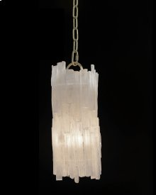 Natural Selenite Pendant
