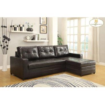 Elegant Lounger Sofa: 96.5 x 62.25 x 35.5H Bed: 96.5 x 62.25 x 35.5H