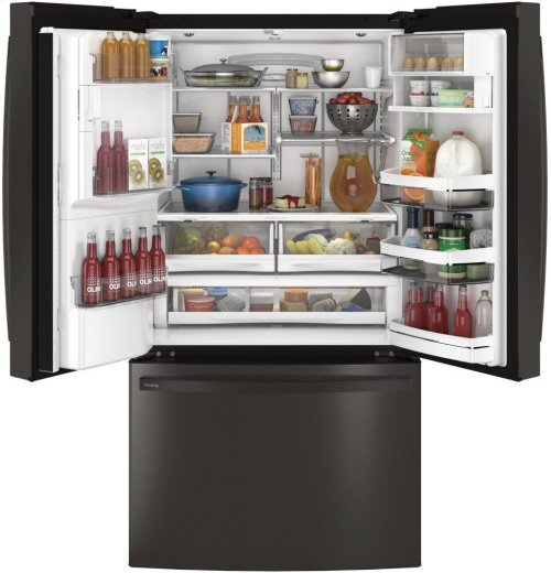 GE Profile™ Series ENERGY STAR® 27.8 Cu. Ft. French-Door Refrigerator with Hands-Free AutoFill
