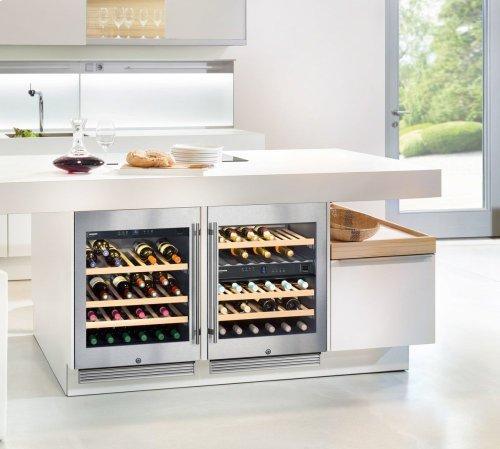 """wu4500 inliebherr in anaheim, ca - 24"""" under-worktop wine"""
