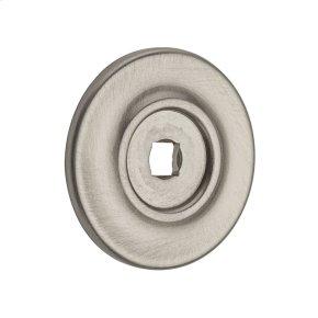 Satin Nickel Knob Back Plate