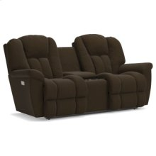 Maverick Power Wall Reclining Loveseat w/ Console