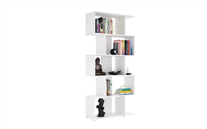 Petrolina Z- Shelf with 5 shelves in White