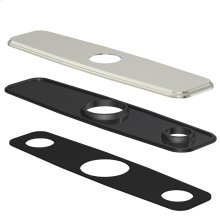 "Chrome Cover Plate Assembly for 8"" Centerset Kitchen Faucet"
