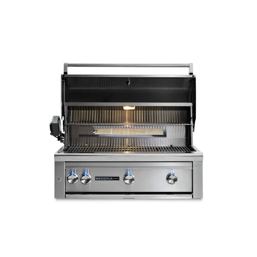 "36"" Sedona by Lynx Built In Grill with 3 Stainless Steel Burners and Rotisserie, NG"