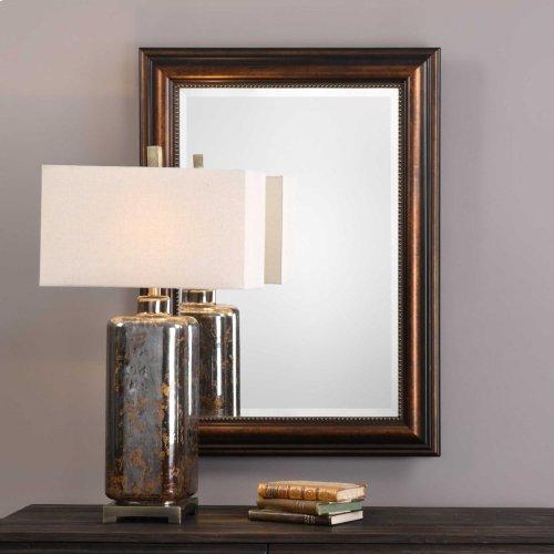 Stuart Bronze Vanity Mirror