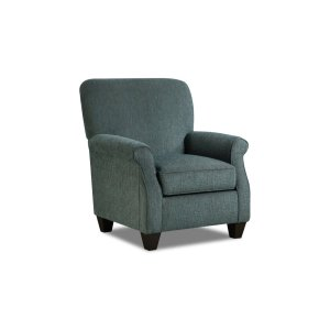 American Furniture Manufacturing1030 - Perth Teal Accent Chair