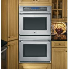 """GE Cafe™ Series 30"""" Built-In Double Convection Wall Oven***FLOOR MODEL CLOSEOUT PRICING***"""