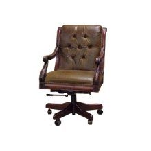 J. Neal Collection Tufted Executive Swivel