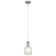 Riviera Collection Riviera 1 Light Mini Pendant-NI