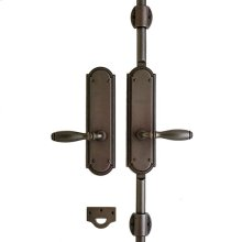 "Ellis Cremone Bolt Set - 3"" x 11"" Silicon Bronze Brushed"