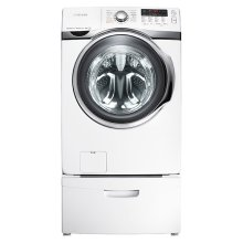 4.0 cu. ft. VRT , Steam and PowerFoam Front Load Washer (White)