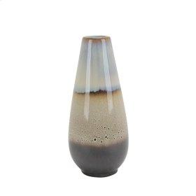 """Ceramic Vase 19"""", Multicolor"""