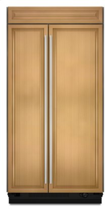 """42"""" Overlay Built-In Side-by-Side Non-Dispenser Refrigerator"""
