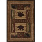 Contours/cem Bear Wilderness Toff Rugs Product Image