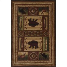Contours/cem Bear Wilderness Toff Rugs