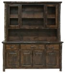"Buffet & Hutch -75"" Espresso Product Image"
