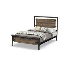 Factory Regular Footboard Bed (larch) - Full
