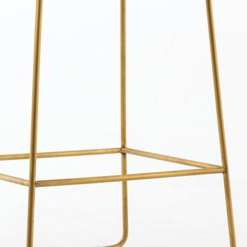 Bar Stool Size Savile Flax Cover Camile Bar + Counter Stool