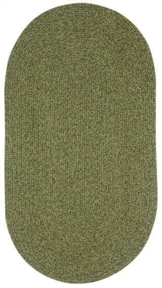 Heathered Sage Green Braided Rugs
