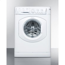 ADA Compliant 110v Washer, Built By Ariston In Italy