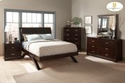 Queen Sleigh Platform Bed Product Image