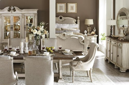 Arm Chair, Linen Fabric
