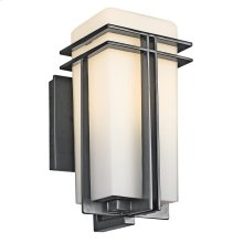 Tremillo Collection Tremillo 1 Light Outdoor Wall Light in Black