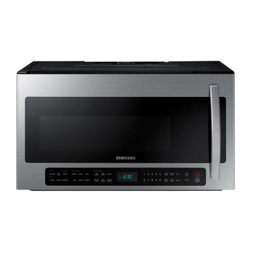 2.1 cu. ft. Over the Range Microwave with Sensor Cooking in Stainless Steel