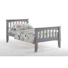 Sasparilla Bed in Gray Finish