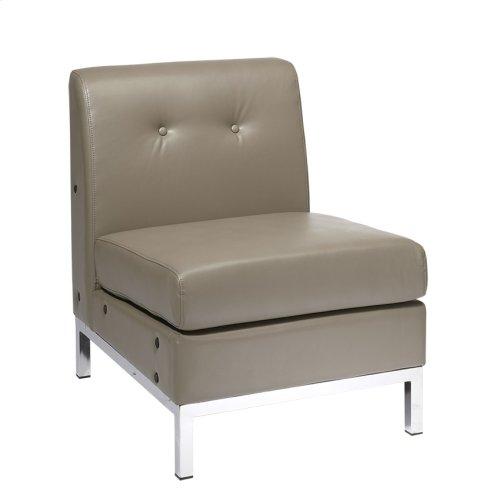 Wall Street Armless Chair