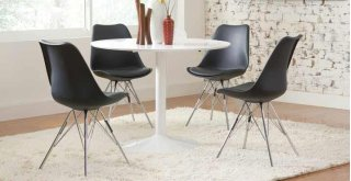 Anette II Dining Chair Black