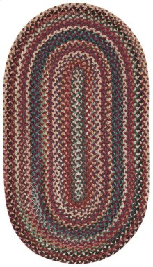 Bear Creek Heritage Red Braided Rugs