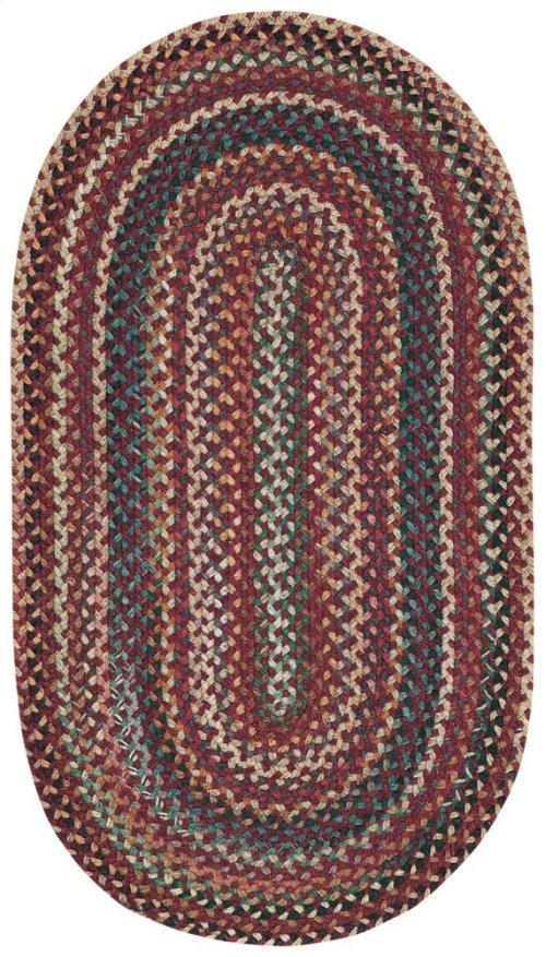 Bear Creek Heritage Red Braided Rugs