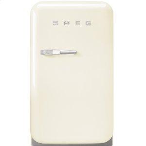 """SmegApprox 16"""" 50's Retro Style Mini Refrigerator, Cream, Right hand hinge"""