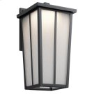 Amber Valley Collection Amber Valley Large LED Wall Lantern in BKT Product Image