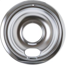 "ELECTRIC RANGE BURNER BOWL - 6"" CHROME"