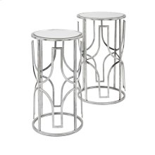 Florence Mirror Accent Tables - Set of 2