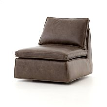Burnt Espresso Cover Sofia Swivel Chair