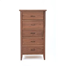 Denver Lingerie Chest - All Walnut