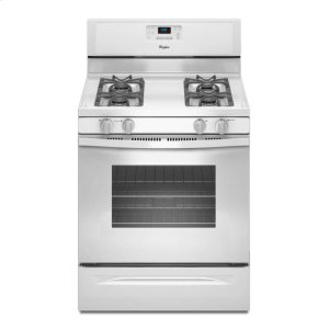 5.0 cu. ft. Capacity Gas Range with AccuBake® Temperature Management System - WHITE