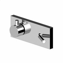 Built-in single lever bath-shower mixer with 3 way diverter.
