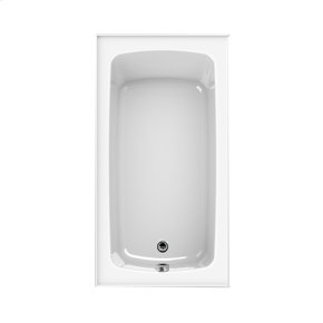 "Easy-Clean High Gloss Acrylic Surface, Rectangular, MicroSilk® Bathtub, Standard Package, 32"" X 60"""