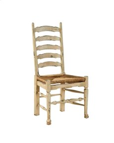 Painted English Country Ladderback Side Chair Product Image