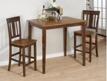 Kura Canyon Counter Height Table With 2 Stools