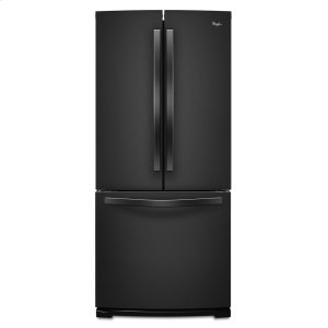 30-inch Wide French Door Refrigerator - 19.7 cu. ft. - BLACK